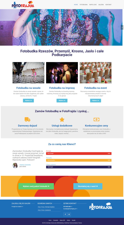 fotofrajda-pl strona www fotobudki - dbd marketing